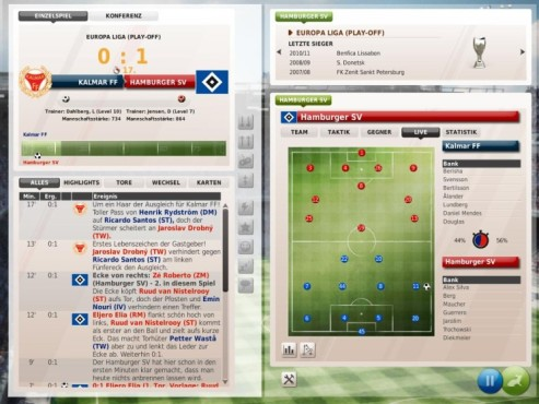 Komplettlösung Fußball Manager 11: Co-Trainer ©Electronic Arts