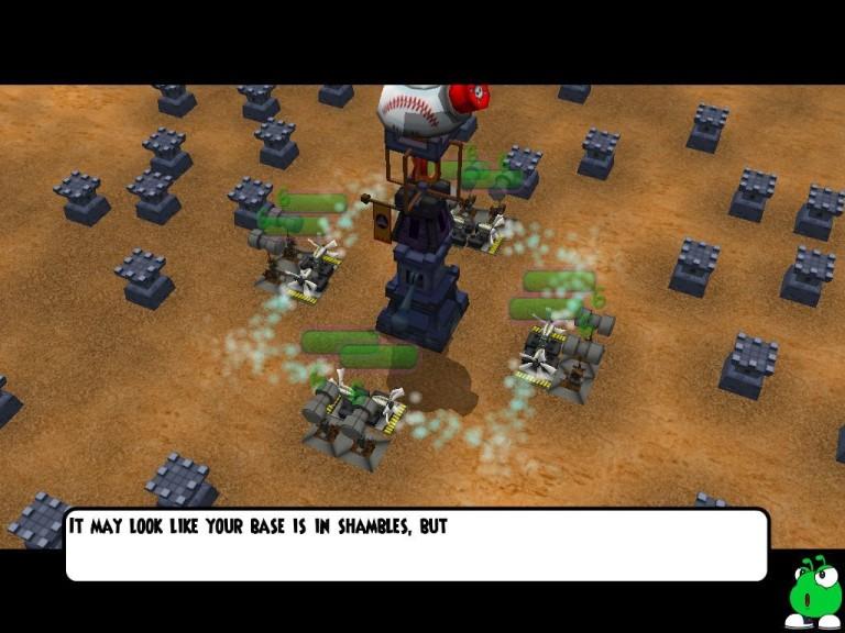 Screenshot 1 - Base Invaders