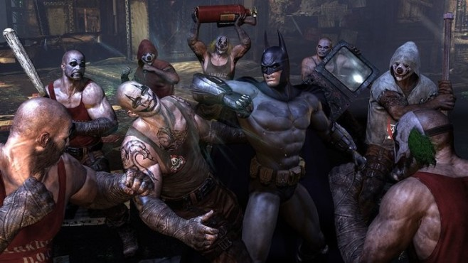Actionspiel Batman – Arkham City: Gang Bang © Warner Bros.