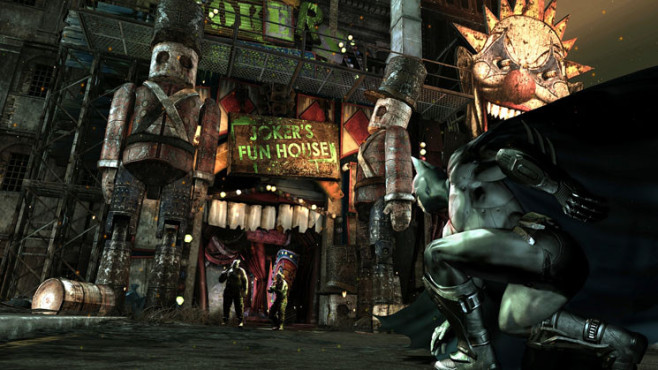 Actionspiel Batman – Arkham City: Jokers Funhouse © Warner Bros.