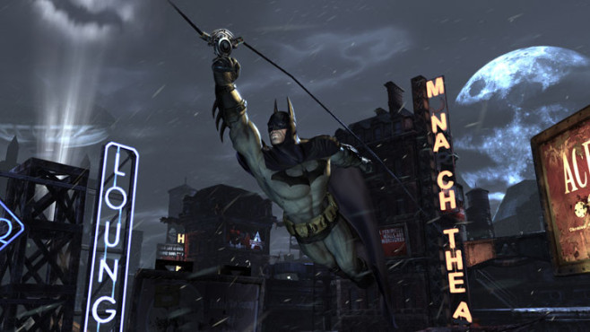 Actionspiel Batman – Arkham City: Lichtkegel © Warner Bros.