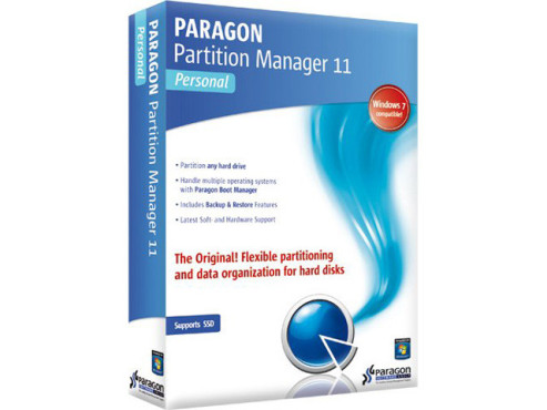 Paragon Partition Manager 11 Personal ©Paragon