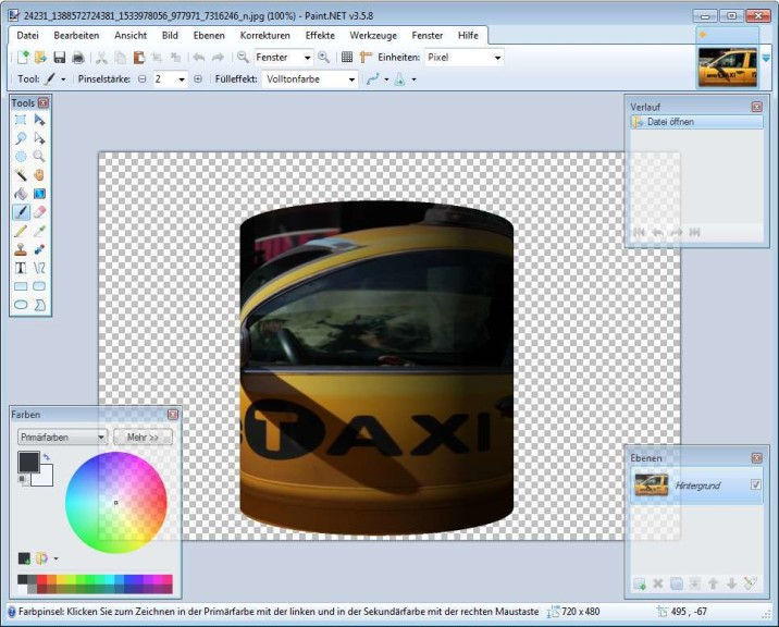 Screenshot 1 - Shape3D Plugin