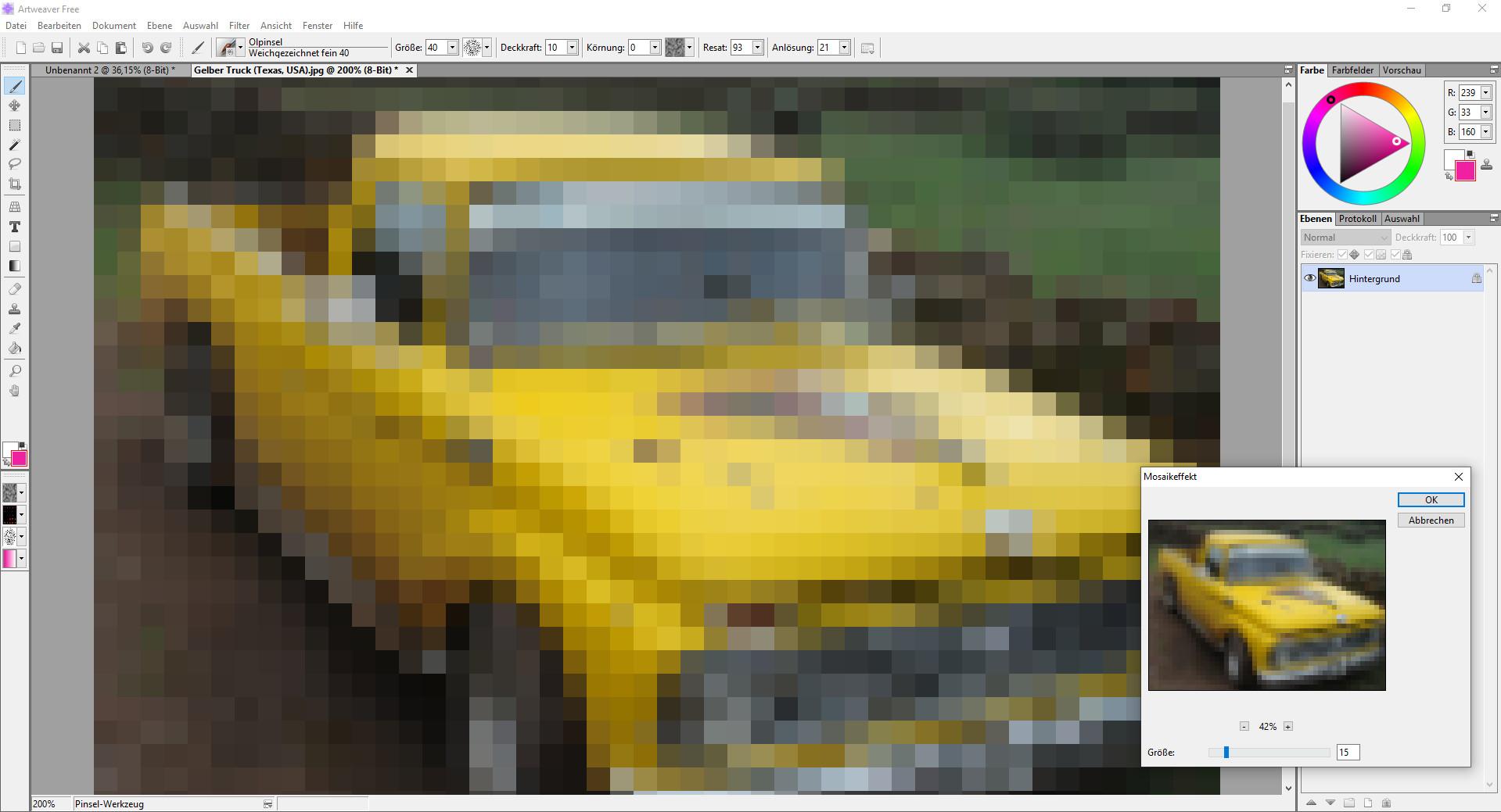 Screenshot 1 - Artweaver Free
