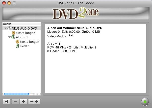 Screenshot 1 - DVD2oneX (Mac)