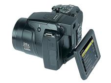 Der Kontrollmonitor der Nikon P100.©Computerbild
