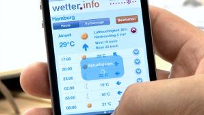 wetter.info: Gratis-App mit übersichtlicher Wettervorhersage