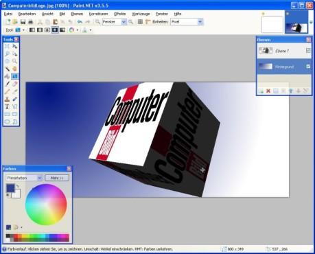 Paint.NET: Bilder professionell bearbeiten