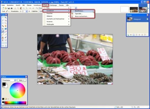 Paint.NET: Kunstwerke schaffen