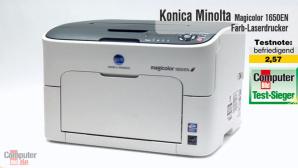 Video zum Testsieger: Konica Minolta Magicolor 1650EN