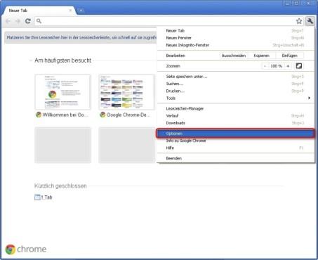 Google Chrome: Chrome auf mehreren Computern nutzen