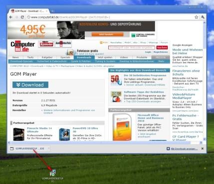 Google Chrome: Downloads mit Google Chrome