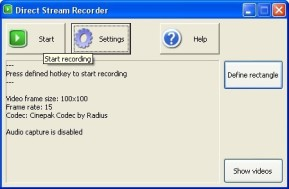 Direct Stream Recorder