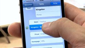iPhone: Unterschiedliche Klingelt�ne Kontakten zuordnen