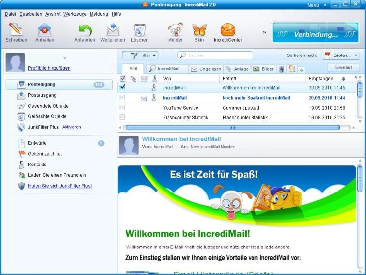Anleitung und Tipps zu IncrediMail - COMPUTER BILD