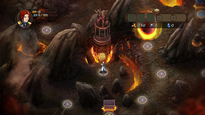 Knobelspiel Might & Magic – Clash of Heroes: Höhle © Ubisoft