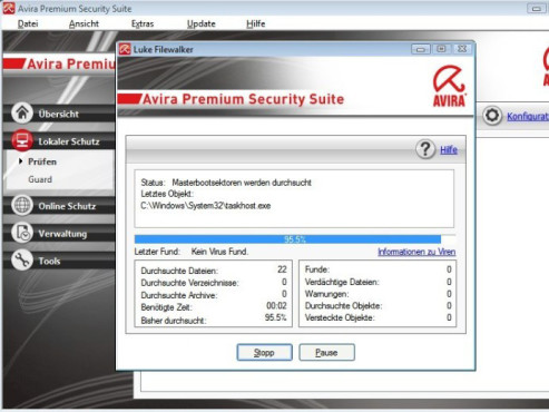 Avira Premium Security Suite ©screenshot