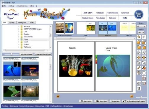 PixelNet Foto Client Professional ©screenshot