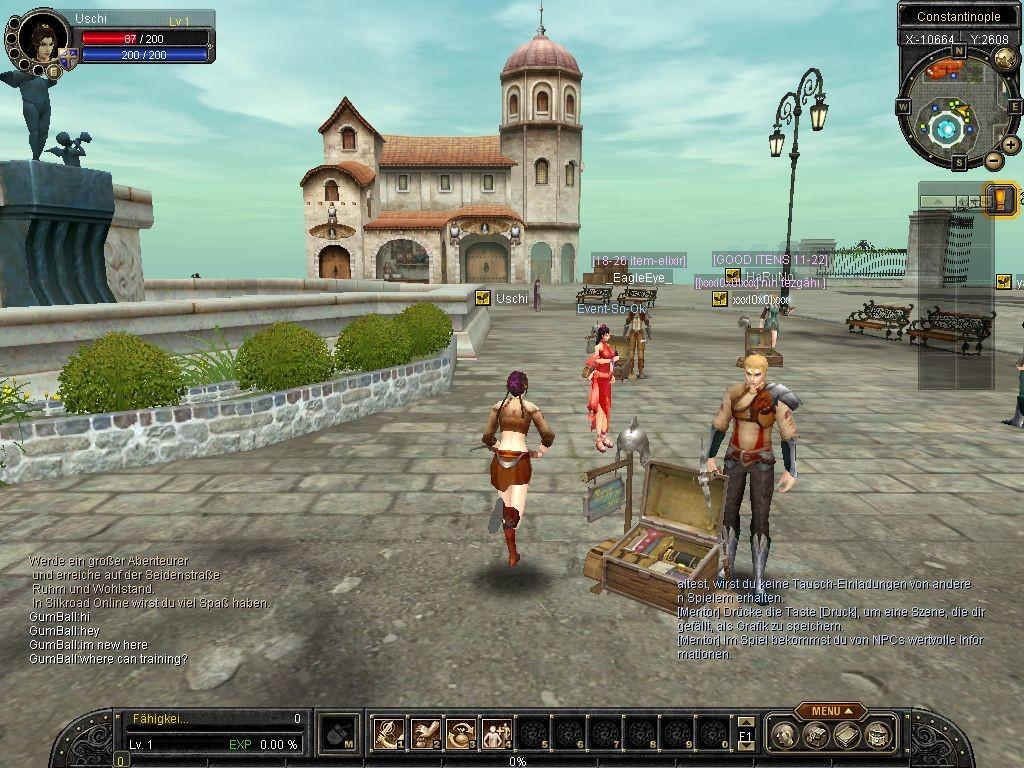 Screenshot 1 - Silkroad