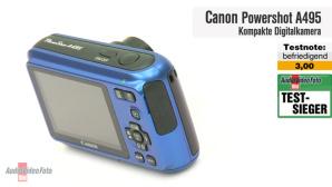 Video zum Testsieger: Canon Powershot A495