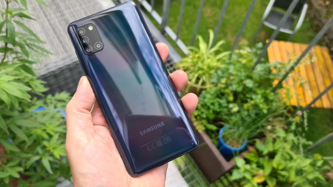 Samsung Galaxy A31 ©COMPUTER BILD