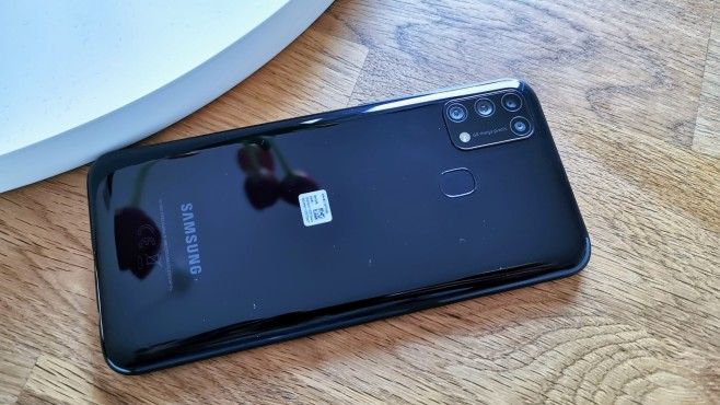Samsung Galaxy M31 ©COMPUTER BILD / Michael Huch