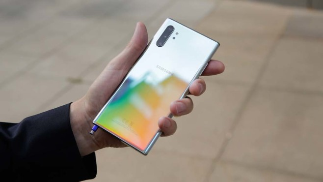 Samsung Galaxy Note 10 Plus © COMPUTER BILD