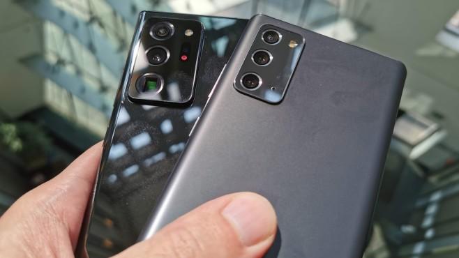 Samsung Galaxy Note 20 ©COMPUTER BILD / Michael Huch