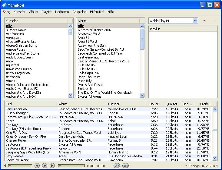 Screenshot 1 - YamiPod