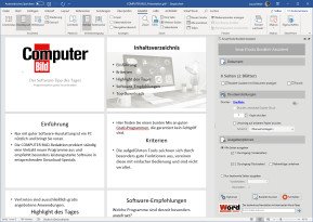 SmartTools Booklet-Assistent für Word