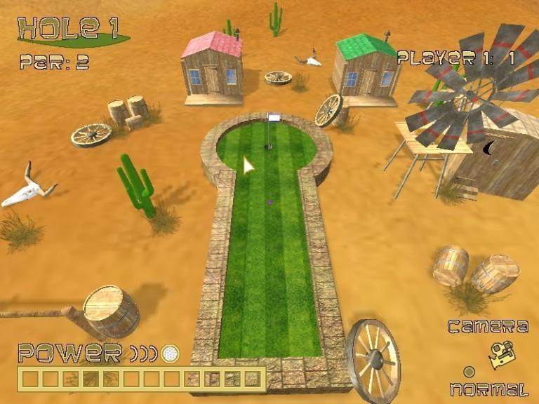 Screenshot 1 - Dynamite Dust Mini Golf