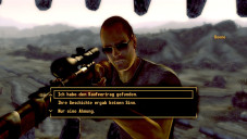 Rollenspiel Fallout – New Vegas: Boone © Namco Bandai