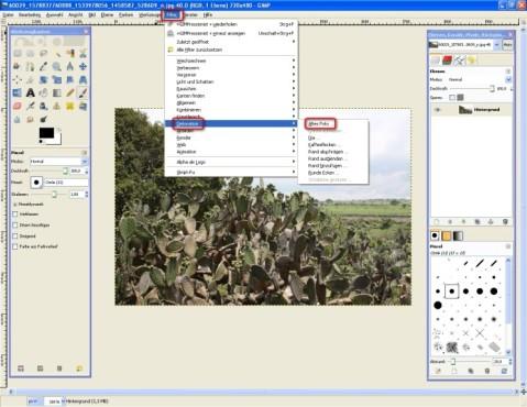 GIMP: Altes Foto erstellen