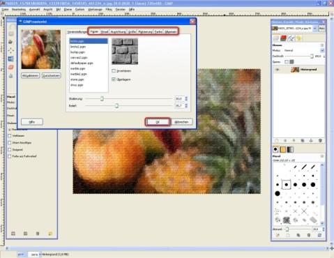 GIMP: Eigene Effekte basteln