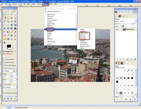 GIMP: Kunstwerke schaffen