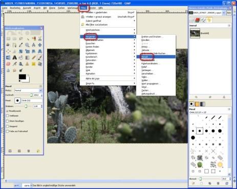 GIMP: Mosaike erstellen