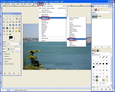 GIMP: Wellen-Effekt nutzen