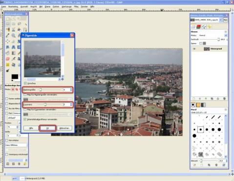 GIMP: Ölbilder erstellen