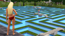 Simulation Die Sims 3: Pool©Electronic Arts