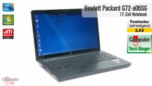 Notebook Hewlett Packard G72-a06SG