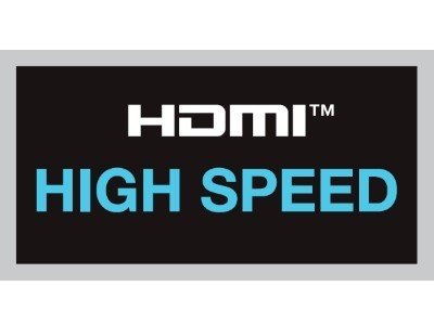 HDMI-Logo - High Speed © HDMI Licensing, LLC