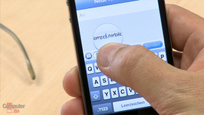 Video: iPhone� Korrekturhilfe bei Textnachrichten