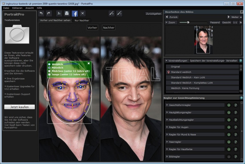 Screenshot 1 - Portrait Professional