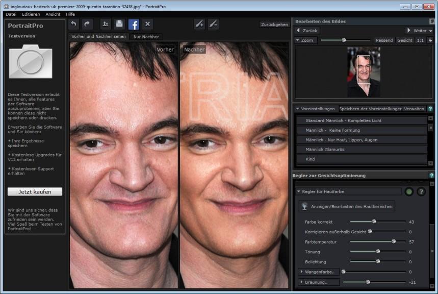 Portrait Professional 125 Download Computer Bild