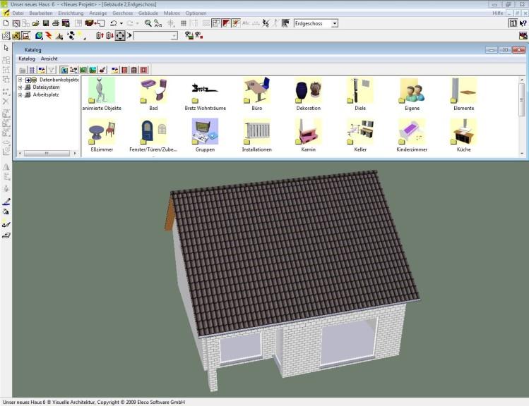 Hausbau Software unser neues haus 6 00 computer bild