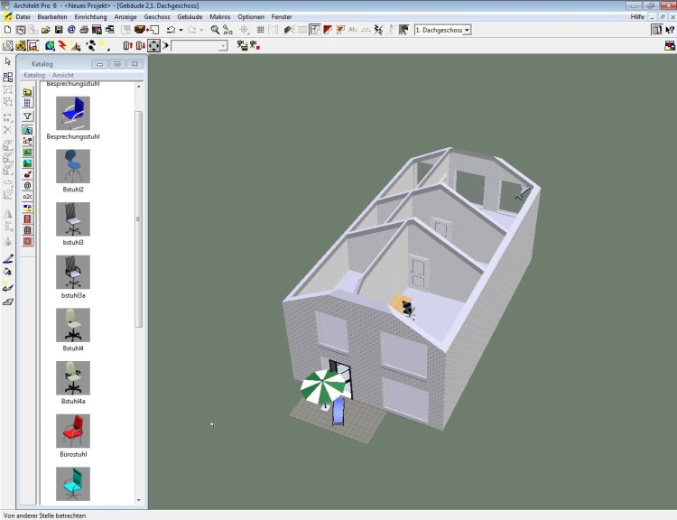 Screenshot 1 - Architekt Pro