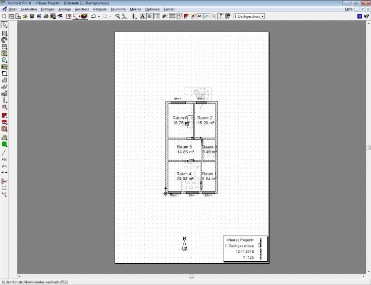 architekt pro 6.00 - download - computer bild, Innenarchitektur ideen