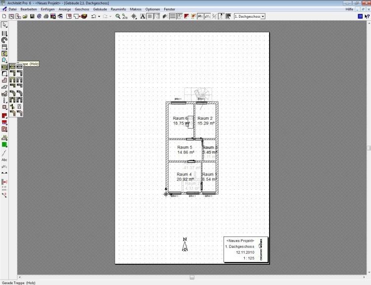 Innenarchitektur Zeichenprogramm Kostenlos architekt pro 6 00 computer bild