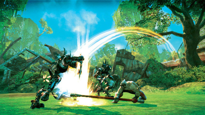 Actionspiel Enslaved – Odyssey to the West: Schlag ©Namco Bandai