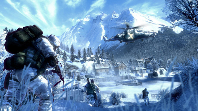 Actionspiel Battlefield – Bad Company 2: Eis ©Electronic Arts